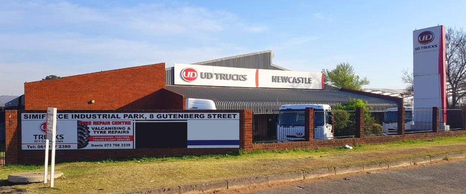 UD Trucks Newcastle front